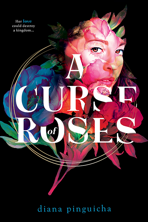 A Curse of Roses by Diana Pinguicha book cover