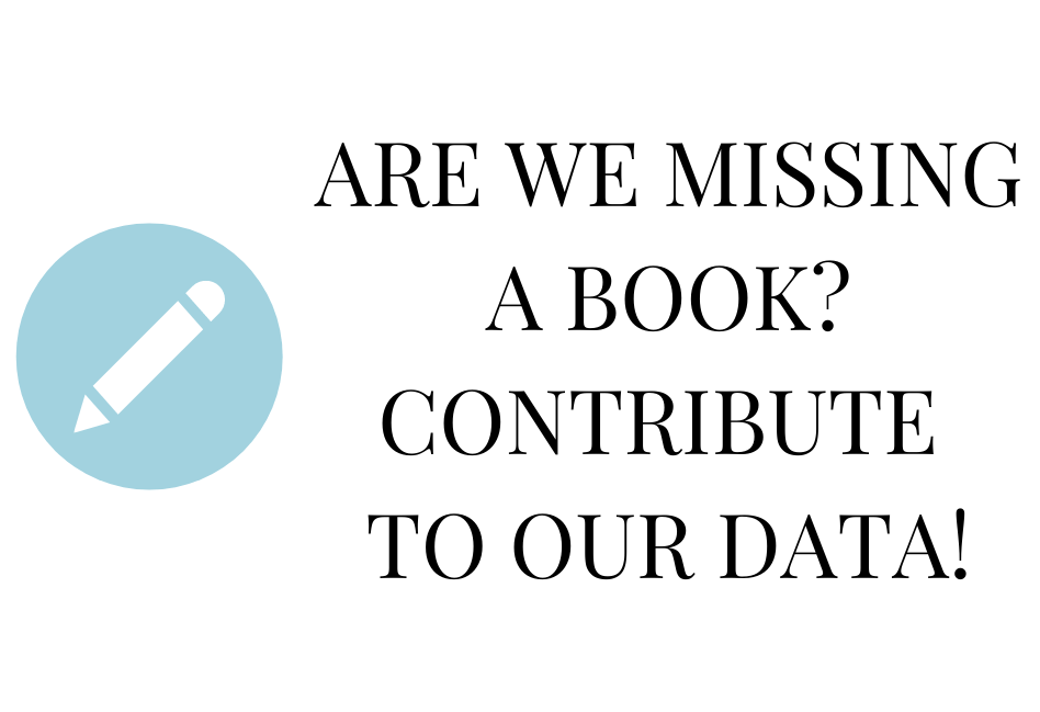 Are we missing a book? Contribute to our data!