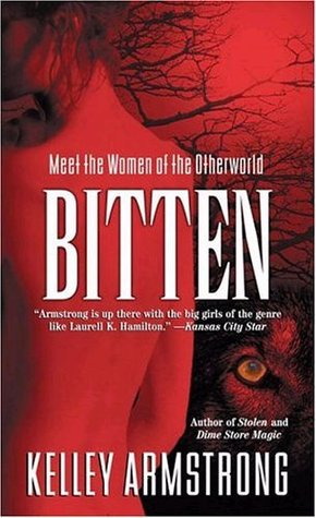 Bitten by Kelley Armstrong book cover