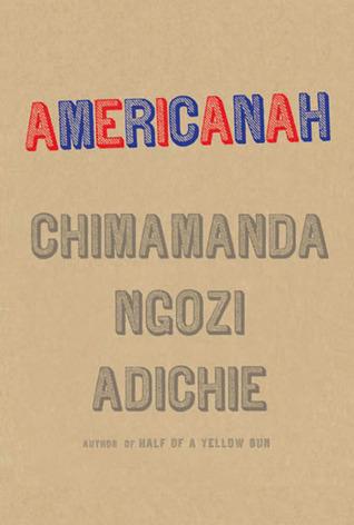 Americanah by Chimamanda Ngozi Adichie book cover
