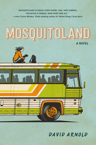 Mosquitoland by David Arnold book cover