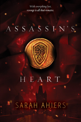 Assassin's Heart by Sarah Ahiers book cover