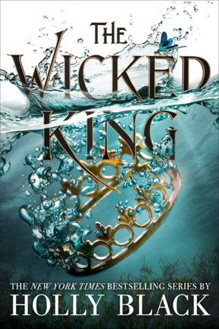 The Wicked King by Holly Black book cover