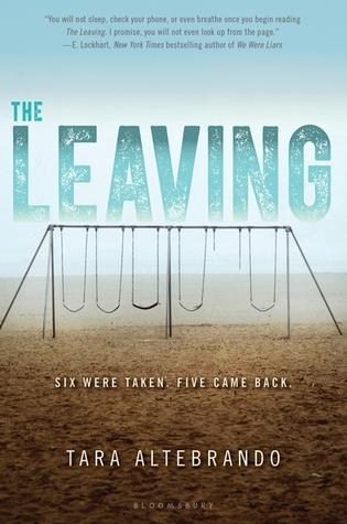 The Leaving by Tara Altebrando book cover