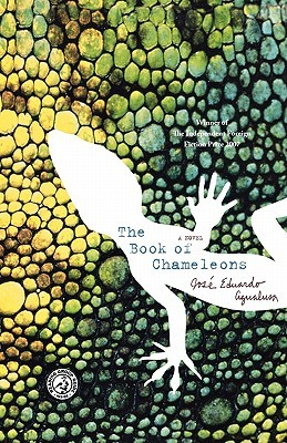 The Book  of Chameleons by Jose Eduardo Agualusa book cover