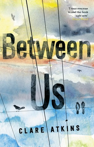 Between Us by Clare Atkins book cover