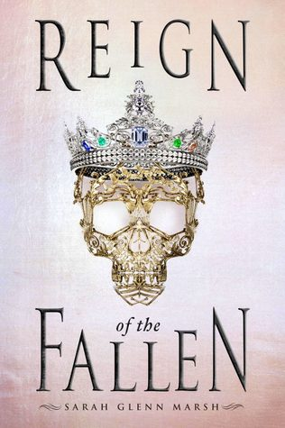 Reign of the Fallen by Sarah Glenn Marsh book cover