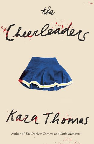 The Cheerleaders by Kara Thomas book cover