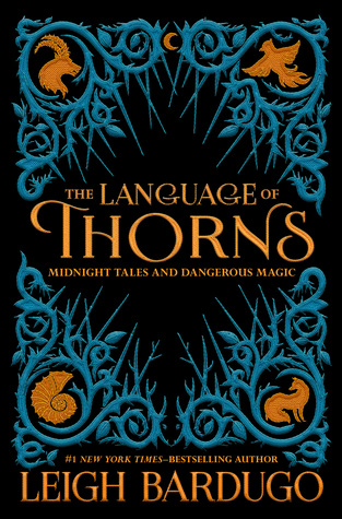 The Language of Thorns by Leigh Bardugo book cover