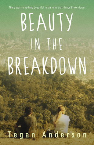 Beauty in the Breakdown by Tegan Anderson book cover