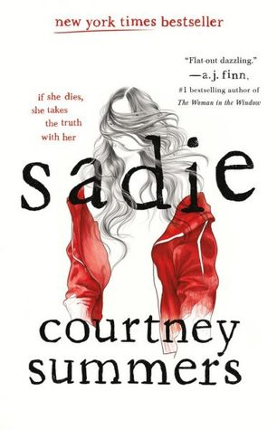 Sadie by Courtney Summers book cover