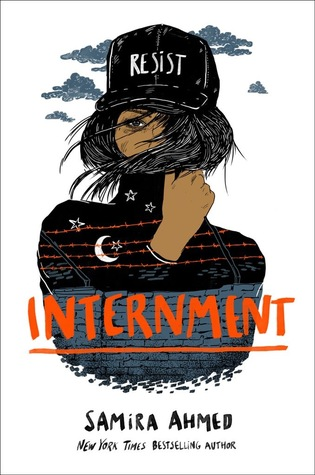 Internment by Samira Ahmed book cover