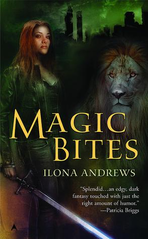 Magic Bites by Ilona Andrews book cover