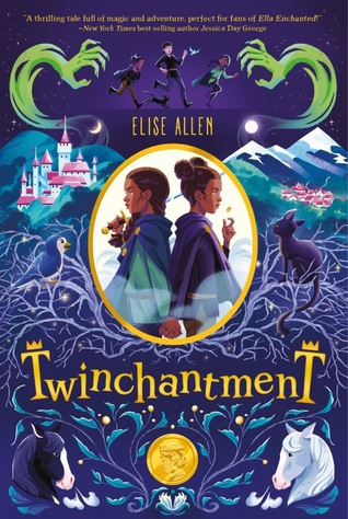 Twinchantment by Elise Allen book cover