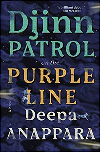 Djinn Patrol on the Purple Line by Deepa Anappara book cover