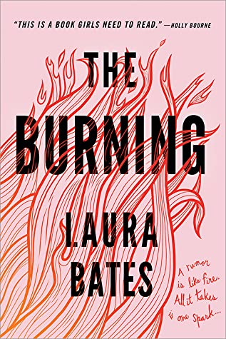 The Burning by Laura Bates book cover