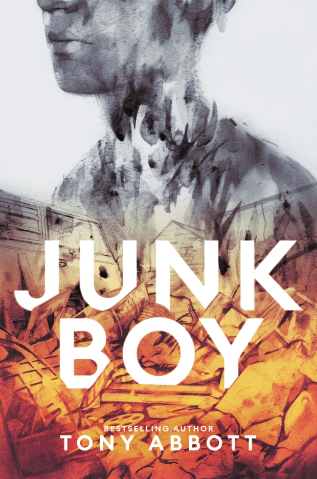 Junk Boy by Tony Abbott book cover