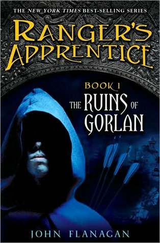 The Ruins of Gorlan by John Flanagan book cover