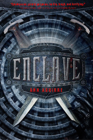 Enclave by Ann Aguirre book cover