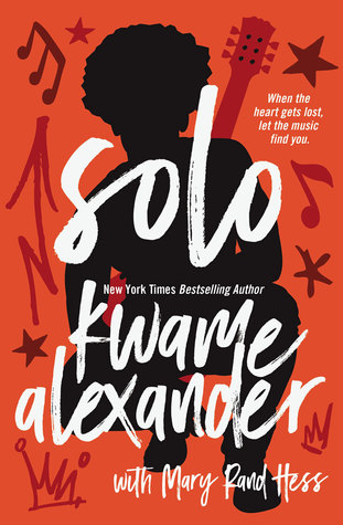 Solo by Kwame Alexander book cover