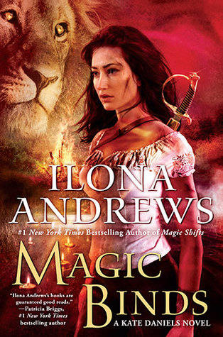 Magic Binds by Ilona Andrews book cover