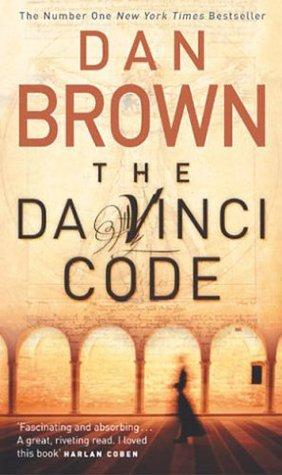 The Da Vinci Code by Dan Brown book cover