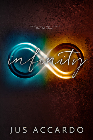 Infinity by Jus Accardo book cover