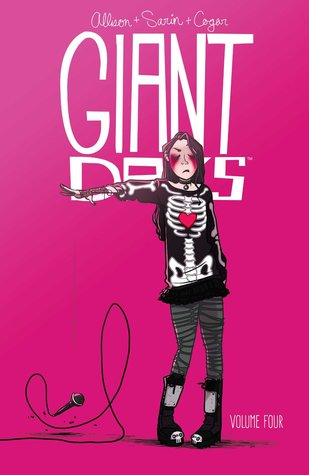 Giant Days by John Allison, Lissa Trieman and Max Sarin book cover