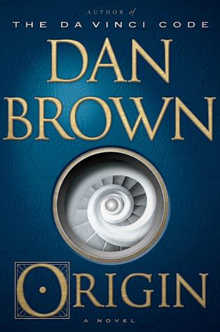 Origin by Dan Brown book cover