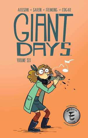 Giant Days by John Allison and Max Sarin book cover