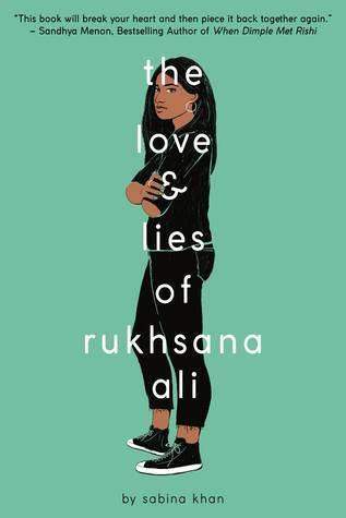 The Love & Lies of Rukhsana Ali by Sabina Khan book cover