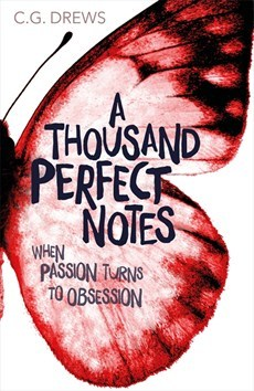 A Thousand Perfect Notes by C. G. Drews book cover