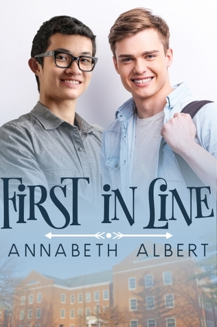 First in Line by Annabeth Albert book cover