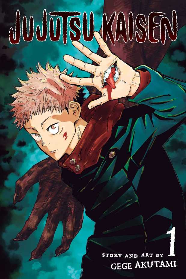 Jujutsu Kaisen, Vol 1 by Gege Akutami book cover