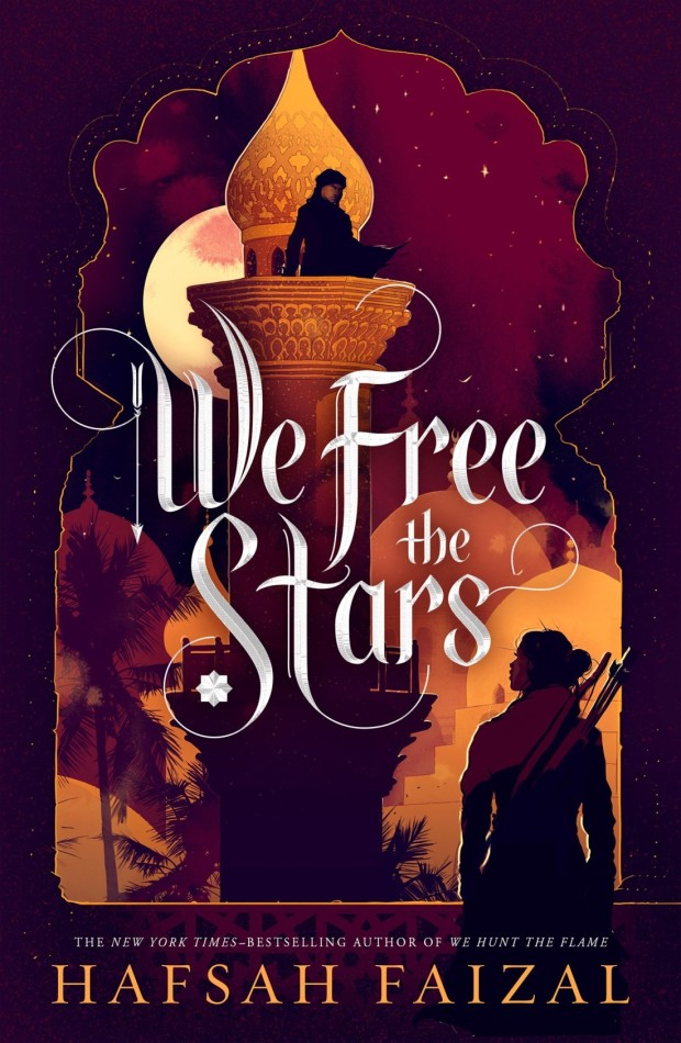 We Free the Stars by Hafsah Faizal book cover