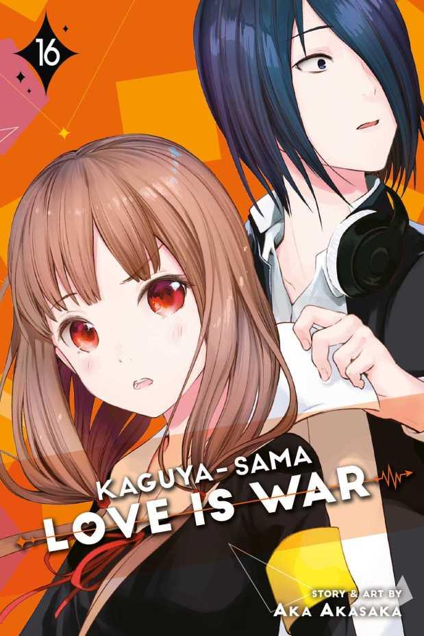 Kaguya-sama: Love is War, Vol 16 by Aka Akasaka book cover
