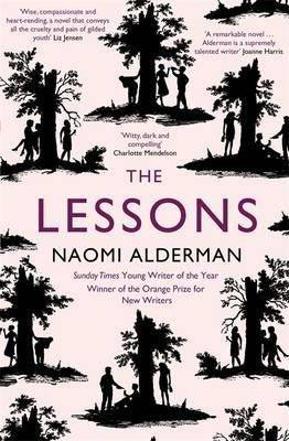 The Lessons by Naomi Alderman book cover