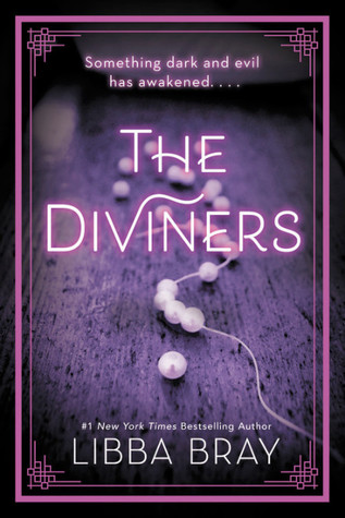 The Diviners by Libba Bray book cover