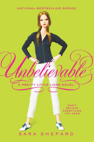Unbelievable by Sara Shepard book cover