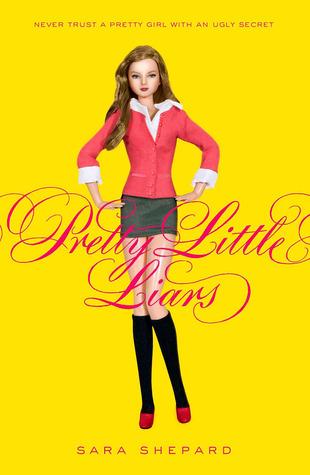 Pretty Little Liars by Sara Shepard book cover