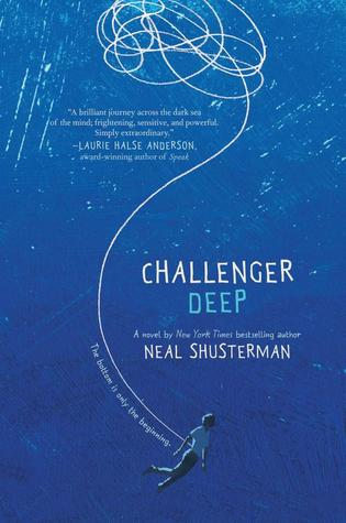 Challenger Deep by Neal Shusterman book cover