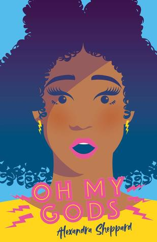 Oh My Gods by Alexandra Sheppard book cover