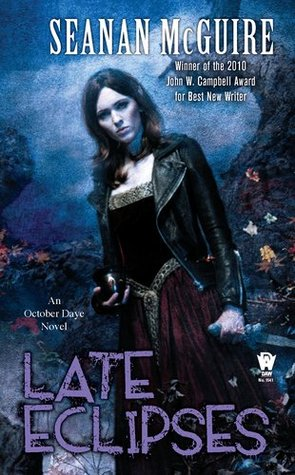 Late Eclipses by Seanan McGuire book cover