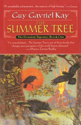 The Summer Tree by Guy Gavriel Kay book cover
