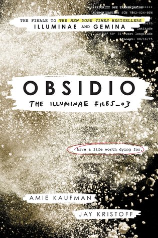 Obsidio by Amie Kaufman and Jay Kristoff book cover