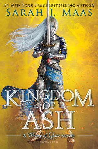 Kingdom of Ash by Sarah J. Maas book cover