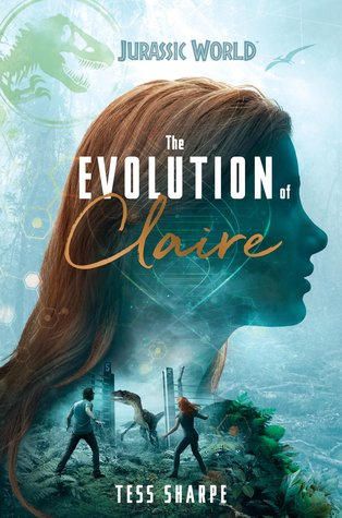 The Evolution of Claire by Tess Sharpe book cover