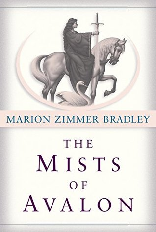 The Mists of Avalon by Marion Zimmer Bradley book cover